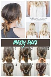 20 Quick And Easy Work Appropriate Hairstyles Easyhairstyles 20 Cute And Easy H Cute Easy Easyhairsty In 2020 Easy Hairstyles Easy Work Hairstyles Hair Styles