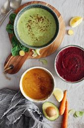 3 Raw Detox Soup Recipes for Summer | Hello Glow