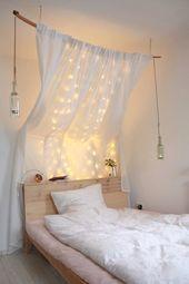 Diy Dreamlike Four Poster Bed Ikea Hack Wohnzimmer Himmelbett Ikea Bett
