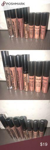 NYX NEW sealed lipsticks and glosses (7 whole) Promoting 7 model new sealed lipsti…