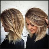 Abgestuftes langes Haar, Frisuren Bob Long, Frisur Medium, Bilder fru …   – Ingrid Frisuren