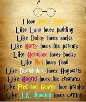I love everything in harry potter❤️⚡️⚡…
