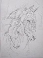 Draw horses, # draw horses – tieremalen | Animal de soutien émotionnel