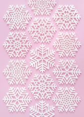 Christmas Perler Bead Patterns Snowflakes & Fun