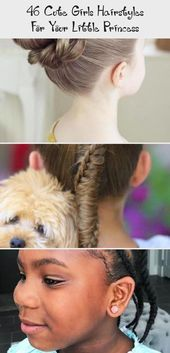 46 Cute Girls Hairstyles For Your Little Princess – Baby  #babyhairstylesWomen #…