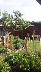 Sommerwohnzimmer Kleingarten. Die Wohnung