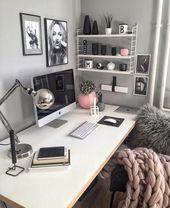 20 Wonderful DIY Desk Ideas For Best Home Decoration
