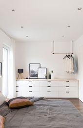Kissen, Kerzen und neues Bettzeug … unser Schlafzimmer   – Inneneinrichtung