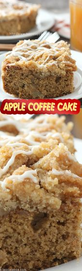 APPLE COFFEE CAKE Almost every Sunday morning growing up my father would make a …  – http://www.tappatappa.com/apple-coffee-cake-recipe/