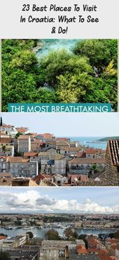 23 Best Places to Visit in Croatia: What to See & Do! – Sofia Adventures #travel…