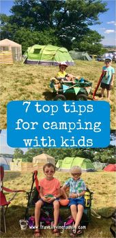 Large Family Camping Camping Hacks