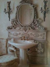 60+ Fancy Shabby Chic Bathroom Decorating Ideas
