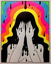 oliverhibert: Gute Nacht – Psychedelic Art – #Art #Güte #Nacht #oliverhibert #Psychedelic