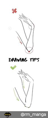 Drawing Tips for Hands: