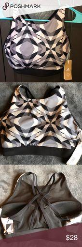 Adidas Wanderlust Yoga Crop Top Sports Bra Super cute adidas workout top from th… – My Posh Closet