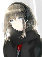 Photo of headphone anime