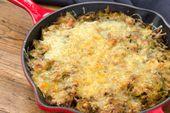 Cette casserole de choux de Bruxelles au fromage de 15 minutes est le côté de Thanksgiving le plus rapide de tous les temps