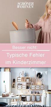 Wohnfehler im Kinderzimmer