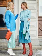 29 Ideen für kaltes Wetter von den coolsten Streetstyle-Mädchen in Stockholm