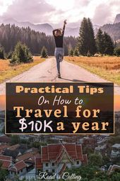 Methods to Journey the World For $10Okay a Yr For Two Whereas Not Being Low-cost