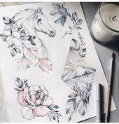 Zeichnung Tattoo Design Tattoo 58+ Ideen – #design #ideen #tattoo #zeichnung – #ZeichnungenEinhorn