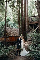 Waterfall Lodge and Retreat Weddings in Ben Lomond, California / Santa Cruz Mountains Wedding Venue