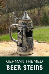 Amazing German Themed Beer Steins Shop the collection at GermanGiftOutlet.com #o…
