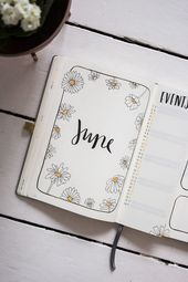 Plan with me: Bullet Journal Setup June 2019