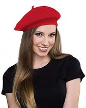 Get Short Hair Without A Haircut : French Beret #frenchberet #fashion #fashionou… – Fashion:DlY