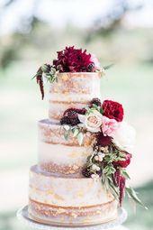 Order wedding cake: 38 beautiful models for inspiration