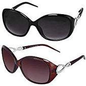 Sheomy Womens Sunglasses Of 2 Combo Of 2 Sunglass …