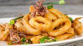 Chili Salt and Pepper-Fried Squid