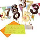 3D Nummer 0-9 Lollipop Silikon Fondantform Kuchen Dekorieren Schokoladenform a P… – Produkte zum Kochen & Genießen