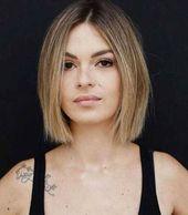Short thin hairstyles to be light feminine