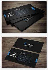 36 ejemplos de tarjetas de visita modernas para inspirarte   – Business Cards Design