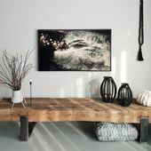 TV-Möbel Sideboard Lowboard aus alten Bahnschwellen – daslandhus.de