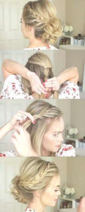 Hairstyles For Medium Length Hair Prom Homecoming 17+ Ideas For 2019