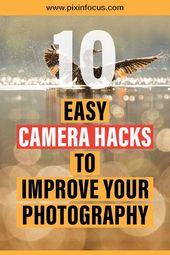 Probieren Sie diese Kamera-Hacks und Foto-Tricks aus, um Ihre Fotografie zu verbessern. Teile Dein …   – photography