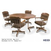 Douglas Casual Living Paula Margo Peggy Caster Dining Set Cheap Office Chairs Dinette Sets Dining Set