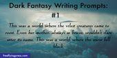 15 textes de Dark Fantasy vous invitant à stimuler votre imagination   – Writing 101