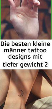 Die besten kleinen Männer Tattoo Designs mit geringem Gewicht 2   – Tattoos