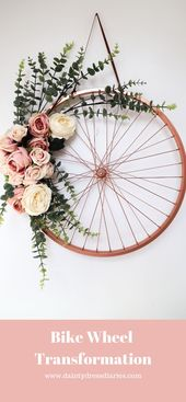 Bicycle Design Flower Skiing