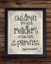 Kinderzimmer Dekor für Mädchen oder Jungen, Kinderzimmer Dekor, Lehrer oder neues Baby Gesche…