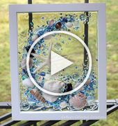 Kunst am Strand, Kunst am Strand Harz, Muschelkunst, Muschelkunst, Seaglass, Seaglass Window, …   – Diy Christmas Ideas