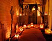 49 Simply Halloween Front Porch Decor Ideas