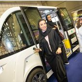 #Repost Moza-bint-nasser with @repostapp. Her Highness visited today Qatar's information and communication technology exhibition and…