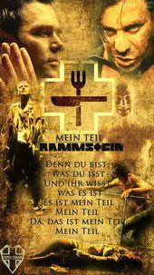 Rammstein-Mein Teil von xDINOo.deviantart … auf @DeviantArt