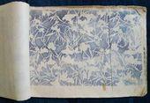 Dies ist ein sehr interessantes Musterbuch, das ungefähr 74 Katazom-Muster zeigt. EIN…