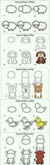 Baby Ilustration Dogs drawing corgi 28+ best ideas