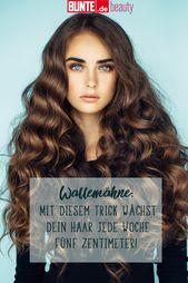 Endlich eine Wallemähne: Mit diesem Trick wächst dein Haar jede Woche 5 Zentimeter – Beauty